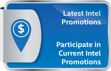 Participate in Current Intel Promotions
