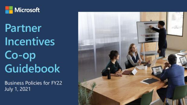 Microsoft Partner Incentives Co-op Guidebook