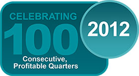 100 Consecutive Profitable Quarters